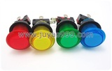 colorful lighted button Illuminated Push Button  with microswitch