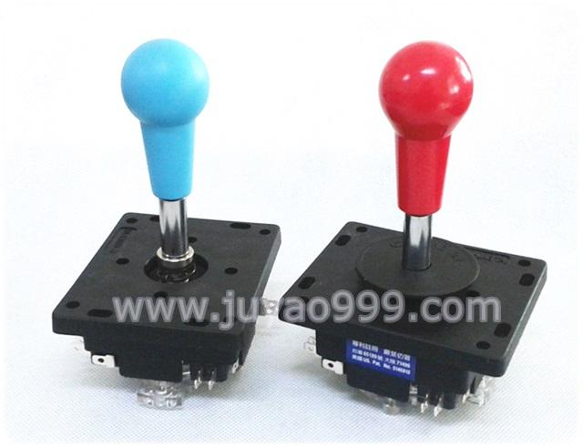 4方 8方 高品质 台湾进口格斗摇杆 ZIPPY微动开关 红色 蓝色