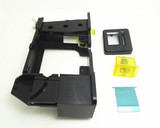 coin acceptor holder for American style coin door