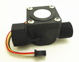 "1/2"" flow sensor for volume control water beer milk vending machine 1/2"" solenoid valve"