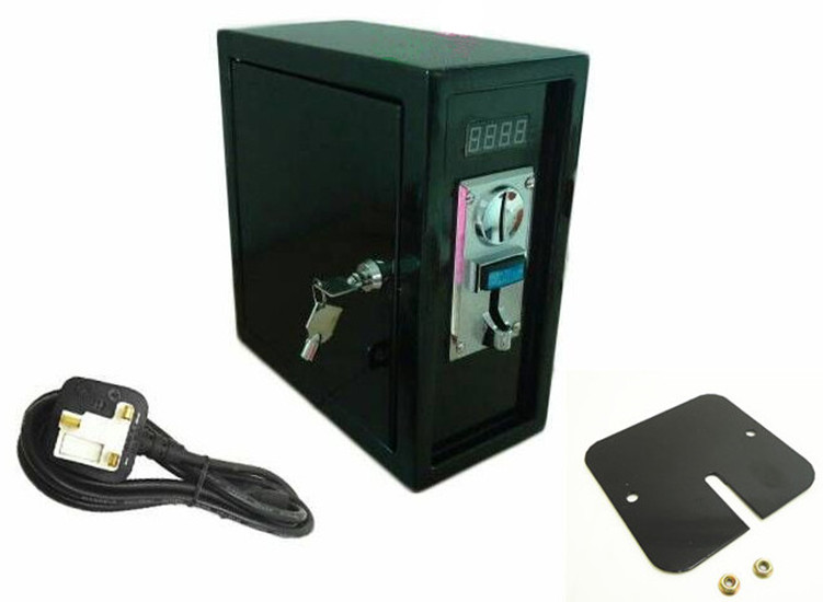 multi coin operated Time Control box Power Supply with multi coin acceptor selector