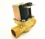 "12V 1/2"" copper solenoid valve for ordinary temperature water vending machine / liquid vending machi"