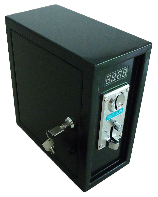 coin operated Time Control box Power Supply with single coin acceptor selector