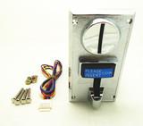 JY-922投币器 设定式10元专用 可调输出脉冲 带禁止线 硬币接收器 投币器 钱道 可接收两种不同类型同面值的币