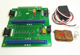 CGA/VGA 28 Jamma pin 2 in 1 switch with remote for arcade game