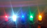 LED按钮灯-12V单色发亮-直插
