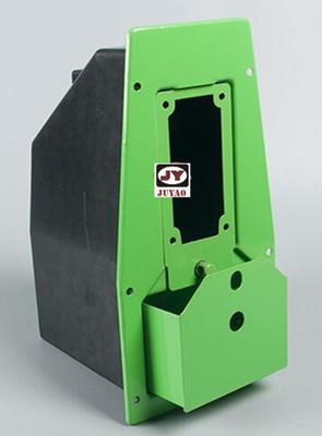 投币器面板铁盒 钱箱 投币机箱配件 钱道面板机盒