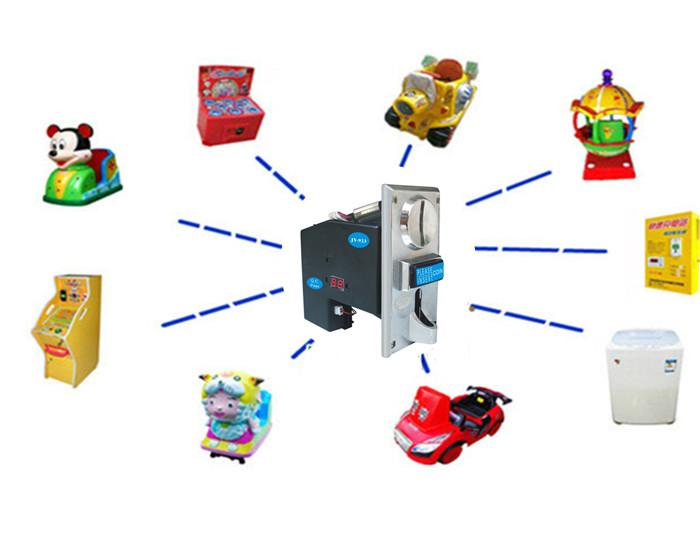 多币种投币器 同时接收多种币投币器