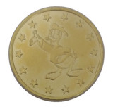 100 pcs of icon Donald Duck 25mm copper token for arcade game machine, coin acceptor,
