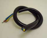 copper only 40 cm 3*2.5mm square AC power cord wire cable