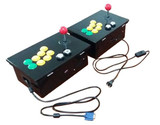 400合一或520合一 家用游戏机 街机游戏控台 街机游戏控制盒配摇杆 按钮 电源盒 喇叭