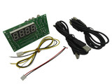 4 digits Time Control Timer Board Power Supply for 2 sets of USB device