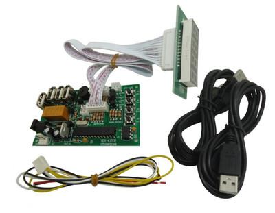 4位数USB带40公分排线时间计时板 时间控制器
