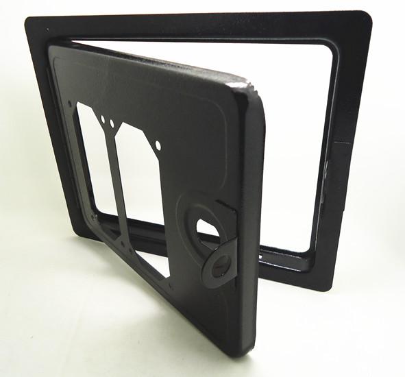 双侧投式投币器铁门 投币器框架 投币器支架,适用任一侧投式投币器