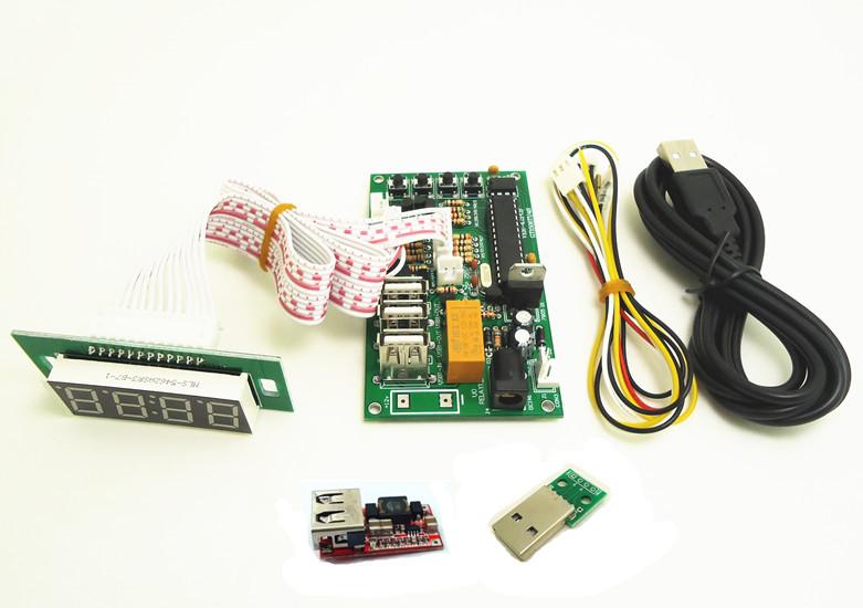 DIY USB 充电计时板 5V充电时间控制板
