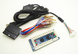 Zero Delay Arcade PC PS 2 PS 3 3IN 1 PC Encoder PC to Joystick Control panel For MAME