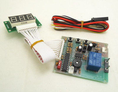 3 digits Time Control Timer Board Power Supply for coin acceptor selector