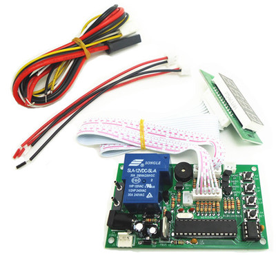4 digits Time Control Timer Board Power Supply for coin acceptor selector, pump water, washing machi